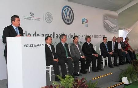 Volkswagen ampliará su planta de motores en Silao.