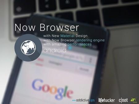 Now Browser, un nuevo navegador ligero y rápido