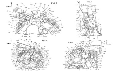 Honda Patenta Motor V2 Sobrealimentado 1