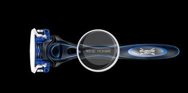 Hydro5 de Wilkinson te ayuda a personalizar tu propia cuchilla de afeitar
