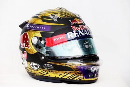86.000 euros por un casco de Sebastian Vettel