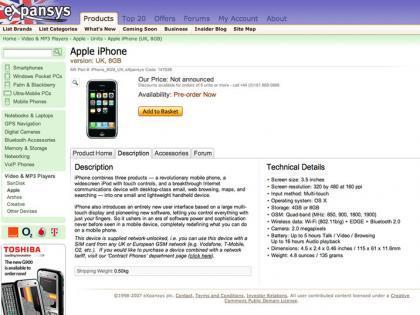 iPhone libre en el Reino Unido