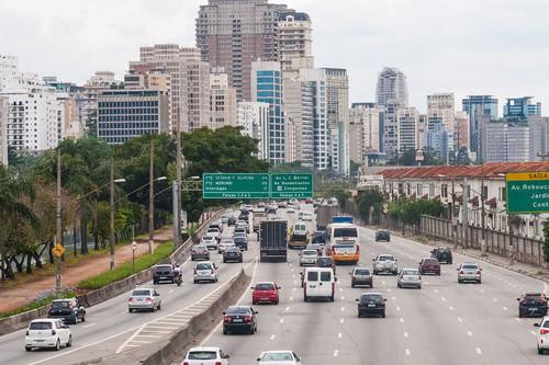 Si existe una 'ciudad de los helicópteros' es esta enorme ciudad brasileña