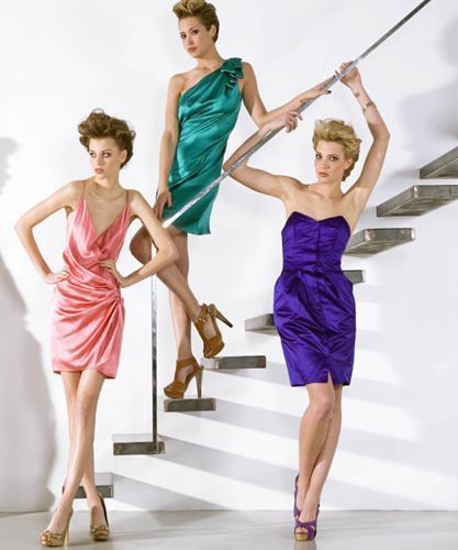 Vestidos de la colección Blue 01 stylist
