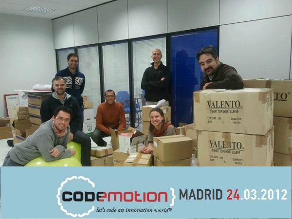 Organizadores del Codemotion