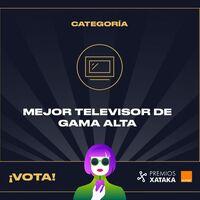 Mejor televisor de gama alta: vota en los Premios Xataka Orange 2021