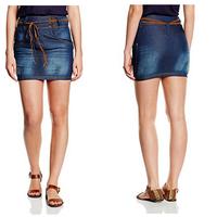 Rebajas en sección moda de Amazon: falda vaquera Inside desde 8,53 euros. Tallas disponibles desde 34 a 42