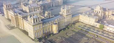El Palacio Blenheim, un escenario de cine bajo la escarcha. Vídeo