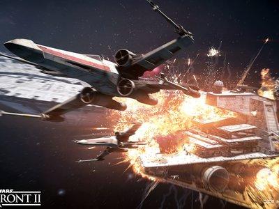 Star Wars Battlefront II: todas las naves confirmadas de su modo Asalto de Cazas Estelares y media hora de gameplay en PS4 Pro