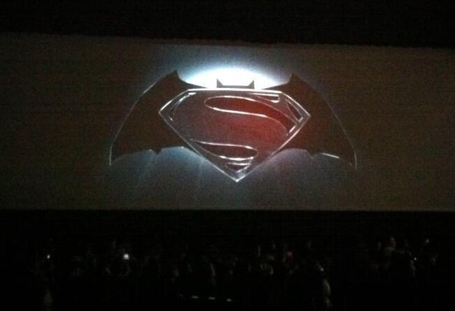 El logo de la película que juntará a Superman y Batman