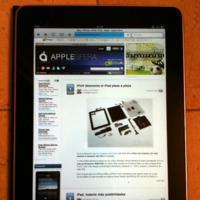 iPad: Primer contacto