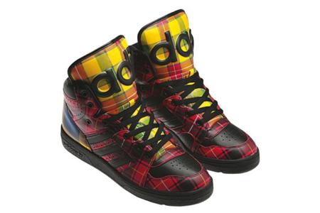 Adidas Jeremy Scott Tartan