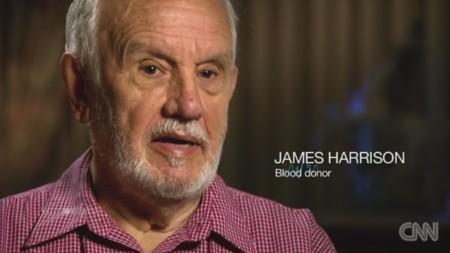 La sangre de James Harrison ha salvado la vida de más de dos millones de bebés