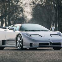 El último Bugatti EB110 SS fabricado sale a la venta: una bestia muy especial con motor V12 turbo de 611 CV