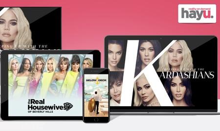 Llega a España hayu, una plataforma de streaming de realities donde ver 'Las Kardashian' y más