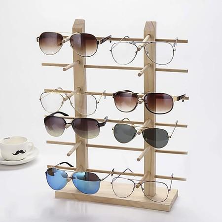 Sistema de almacenaje de gafas de sol