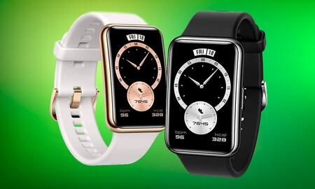 Sólo hoy en Amazon el Huawei Watch Fit Elegant Edition cuesta 30 euros menos