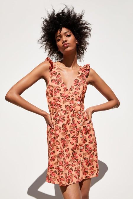 Zara Vestidos Flores 01