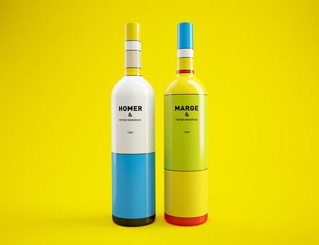 Las botellas de vino de Los Simpson inspiradas en sus 30 años de historia