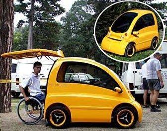 Coche para discapacitados