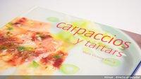 El libro de carpaccios y tartars de Marie-Victoire García