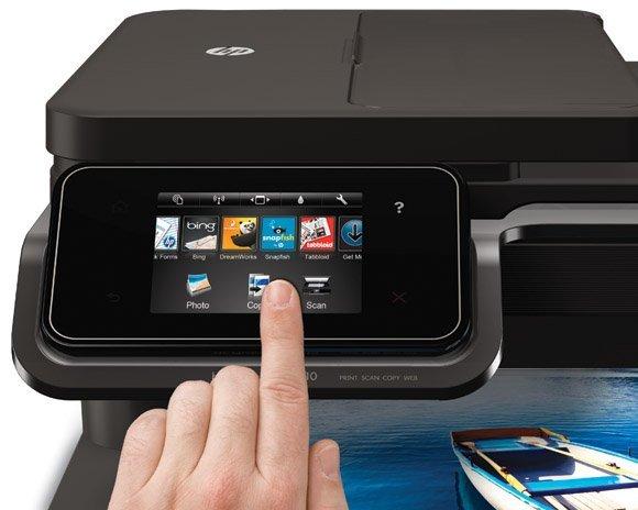 HP photosmart 7510 pantalla táctil