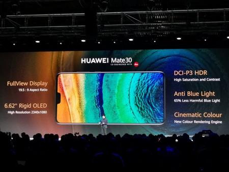 Huawei Mate 30 Oficial Pantalla
