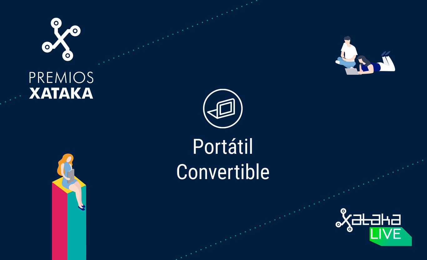 Mejor portátil convertible: vota en los Premios Xataka 2018