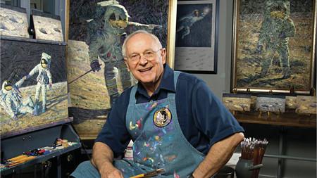 Fallece a los 86 años Alan Bean, el astronauta que estuvo en la Luna (y fue pintor)