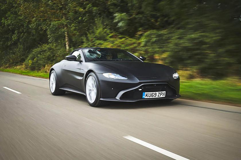 Aston Martin Vantage Roadster Se Deja Ver Antes De Su Lanzamiento