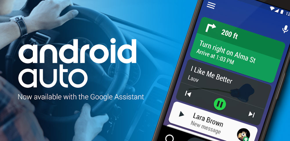 Android Auto launches a new application to work on screens of mobile phones with Android 10
