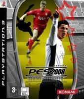 La portada de 'Pro Evolution Soccer 2008'