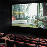 Las salas de cine están tan desesperadas que ya se alquilan para proyectar partidas de videojuegos