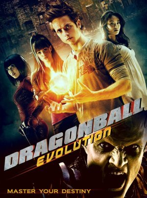 Un cartel de Dragonball Evolution