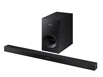 Mejorar el sonido de nuestra TV sale barato con la barra de sonido Samsung HW-K430/ZF por 160 euros en Mediamarkt