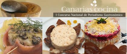 I Premio Nacional de Periodismo Gastronómico Canarias Cocina