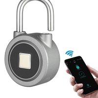 Oferta Flash: candado inteligente, con lector de huellas y Bluetooth, por sólo 24,96 euros