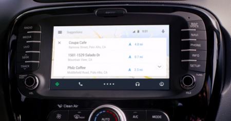 Google muestra por primera vez cómo lucirían las aplicaciones de Android Auto