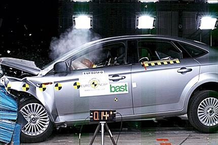 Cinco estrellas EuroNCAP para el Ford Mondeo