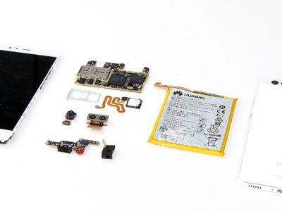 Despiece de un Huawei P9 en 20 pasos