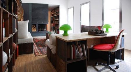 taller de un carpintero convertido en un contemporáneo loft