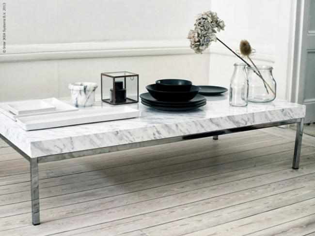 Hazlo t mismo convierte tu mesa de ikea en una for Mesa centro marmol