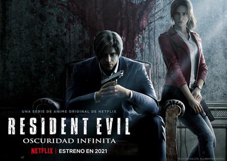 Trailer de 'Resident Evil: Oscuridad infinita', el nuevo anime de Netflix comemora el 25 aniversario de la saga