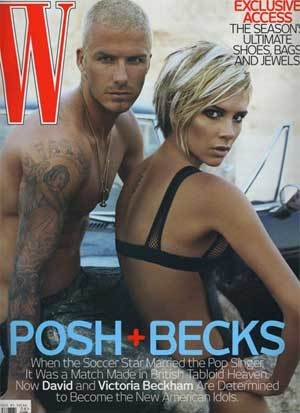 Los Beckham en W Magazine