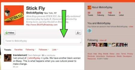 Twitter está probando la posibilidad de enviar menciones a usuarios desde sus propios perfiles
