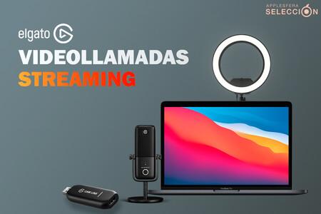 Streams y videollamadas de calidad con los productos de Elgato: ofertas en Cam Link 4K, Ring Light y micrófonos Wave en Amazon