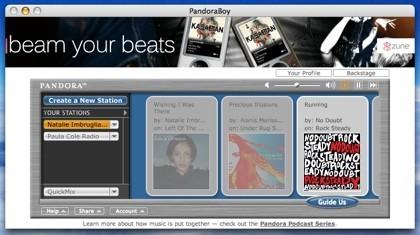 PandoraBoy: Usando Pandora, incluso con el Apple Remote
