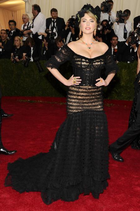 Kate Upton Gala MET 2014 peor vestidas