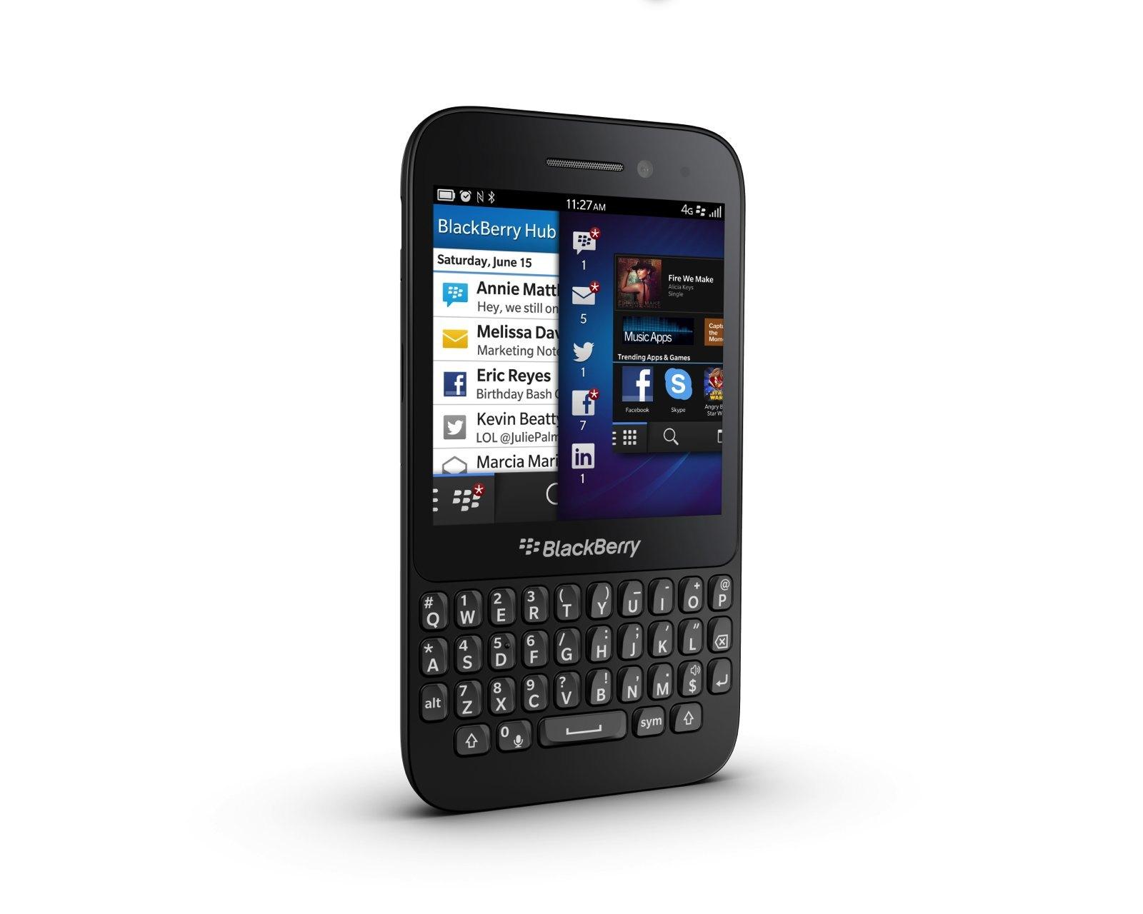 Foto de Blackberry Q5, presentación oficial (8/9)