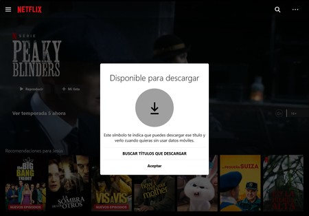 Cliente Netflix Windows™ 10